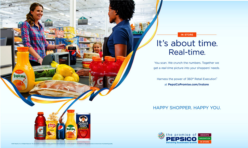 PepsiCo Trade Ad – Real Time