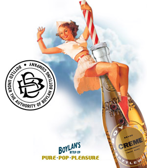 Link to Boylan Soda print campaign