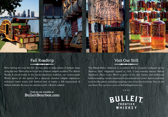 Bulleit Bourbon Guide – invitation to the Stizel-Weller Distillery, Louisville, KY