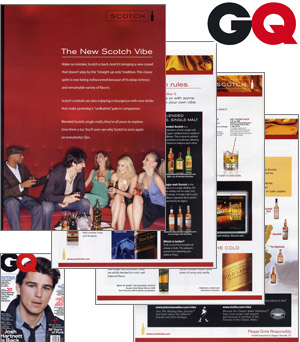 GQ Magazine Diageo Scotch primer