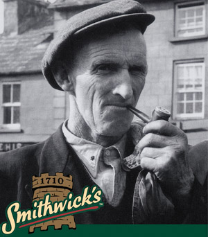 Link to Smithwick's Irish Ale intro print ads